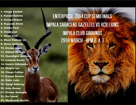 final impala semis header