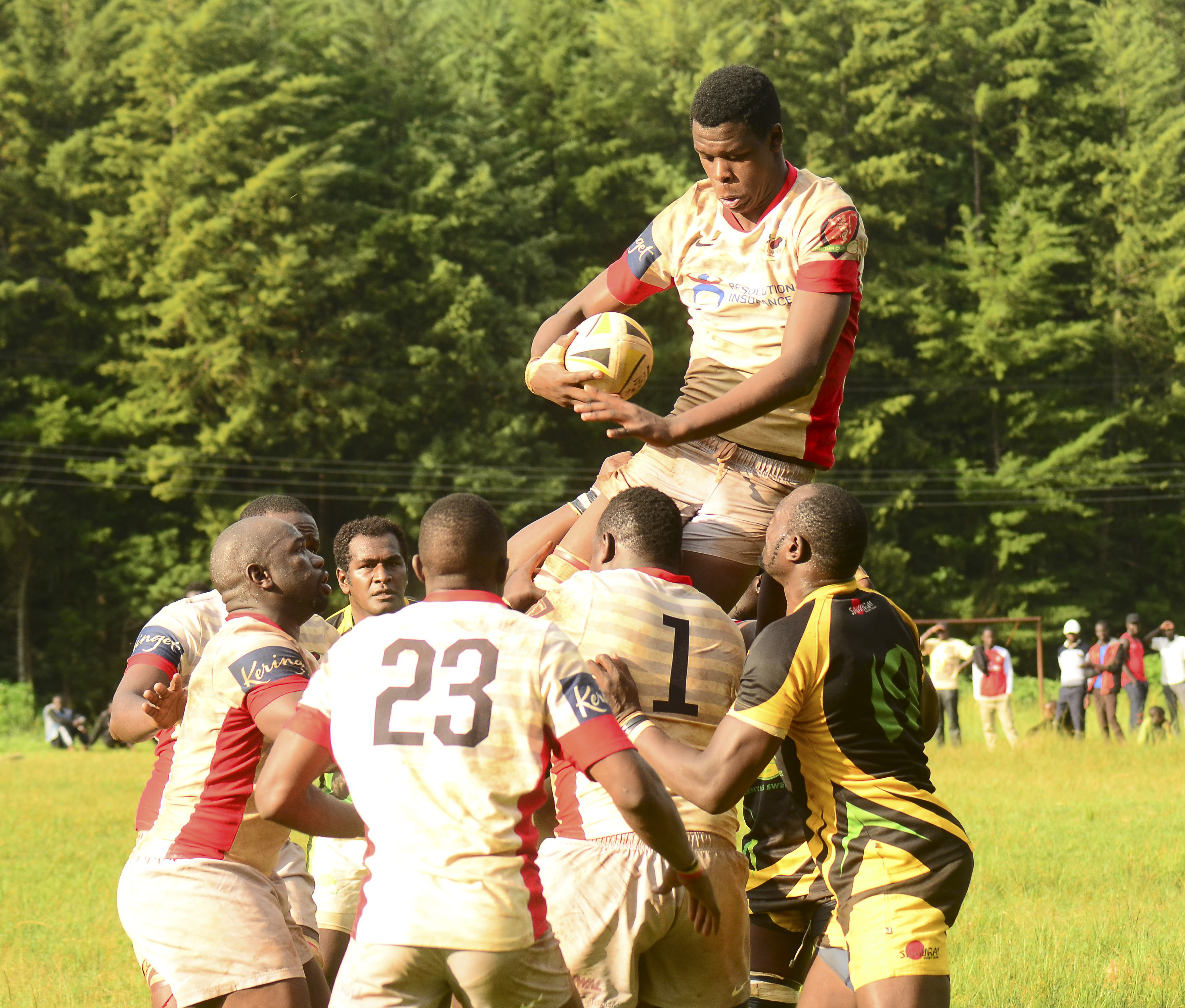 Resolution Impala Saracens lock - SHEM angugo secures line out for Impala in the 15-16 loss to Kabras