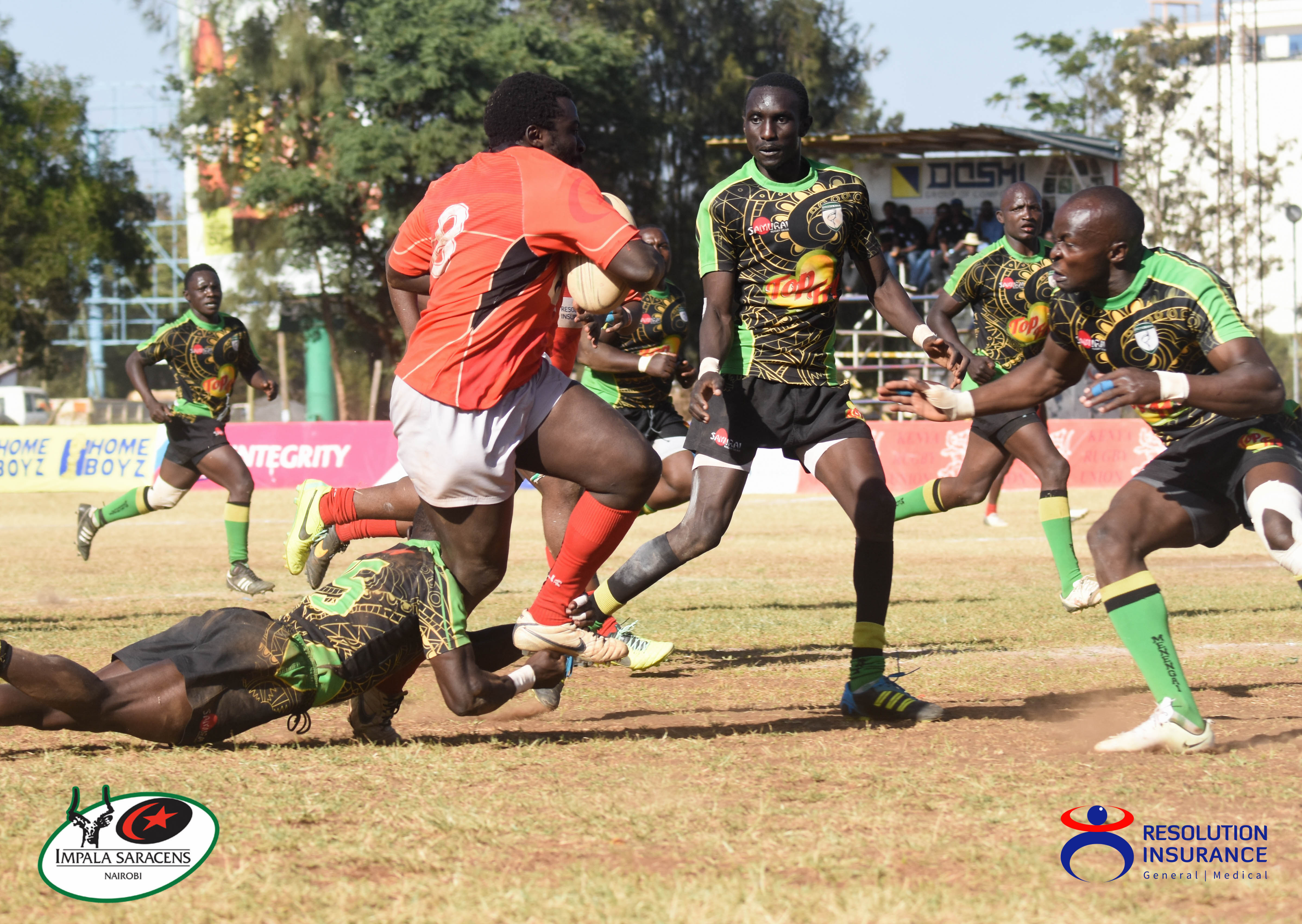 Impala vs Nakuru Kenya Cup 2-2