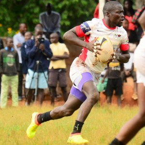 Richard Sidindi in action playing for Resolution Impala Saracens.
