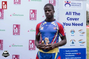 Frank Oduor was scooped with all the individual awards,